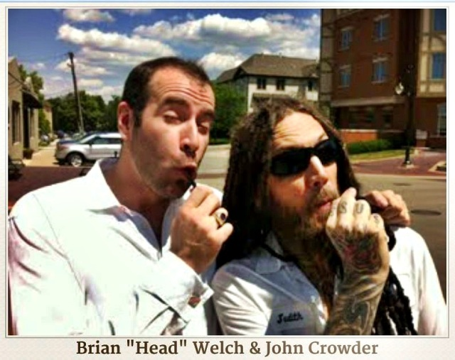 "Old friends John Crowder & Head - ""Tokin the Ghost"""