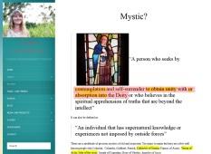"Head's New Age friend ""mystic"" Milly Bennitt"