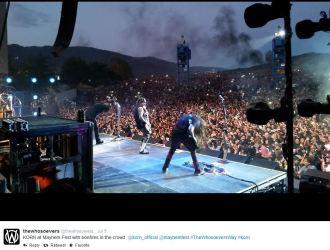 Whosoevers post of Korn's jam @ Mayhem Fest 6.9.14