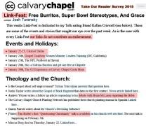 CCCM's Jan. 2015 Linkfest = Bad links