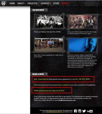 """Whosoevers promoting heretical Holy Ghost"""" movie; 11.9.14"""