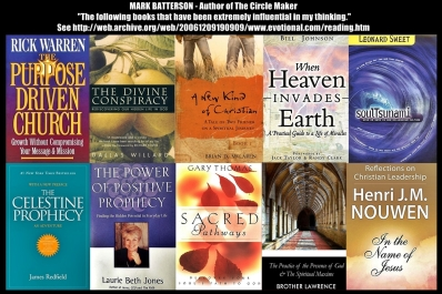 Batterson recommended books 2/28/2016