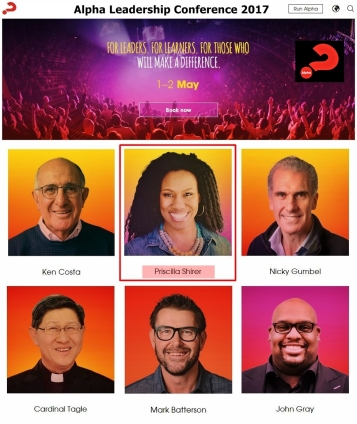 with Priscilla Shirer, Gumbel and Catholics, etc.