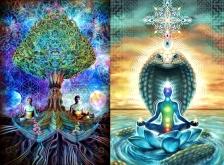 Kundalini, chakras, Tree of Knowledge and the serpent